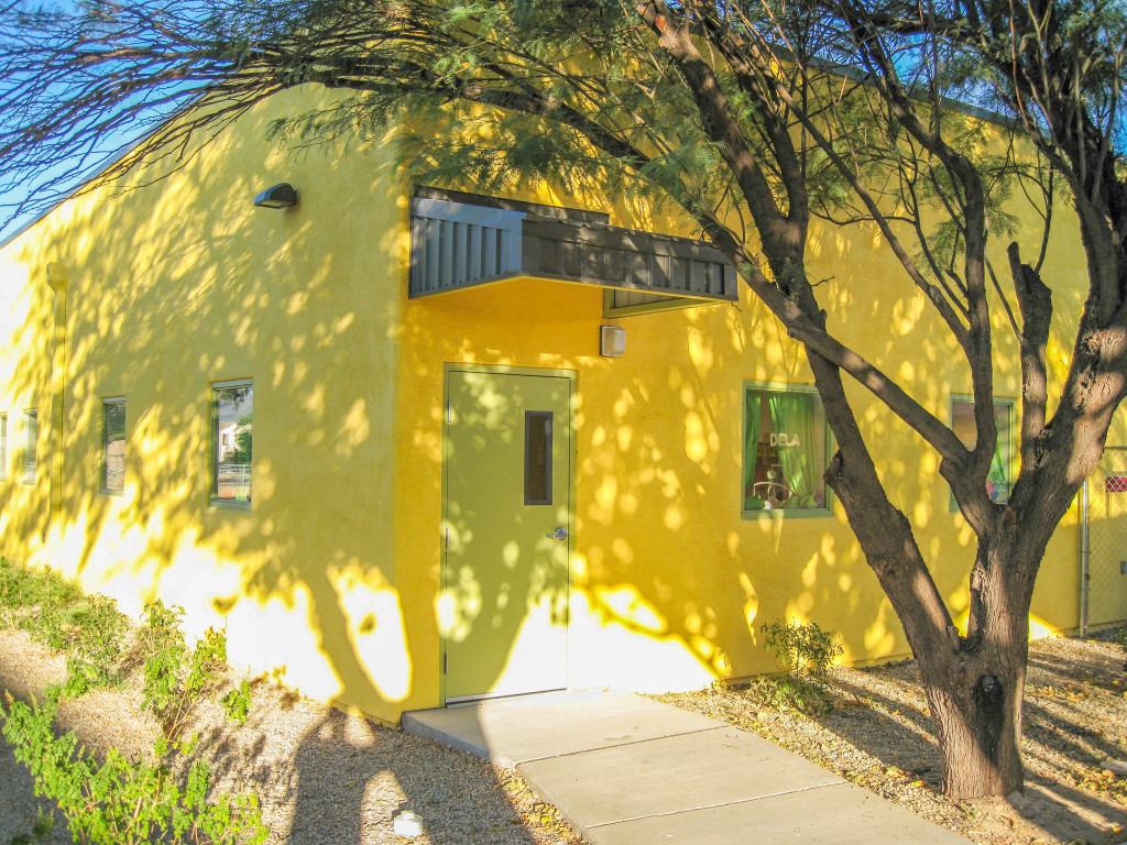 Awesome Sonoran Science Academy Standing Seam Metal Door Awnings
